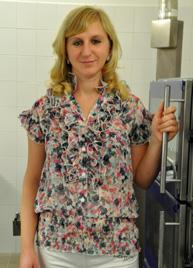 Baloghné Lemák Hanna - konyhai kisegítő